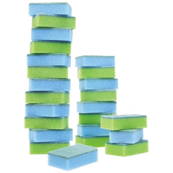 Mosogatószivacs Beate - Zöld/Kék, Műanyag (58/8/5cm) - Based
