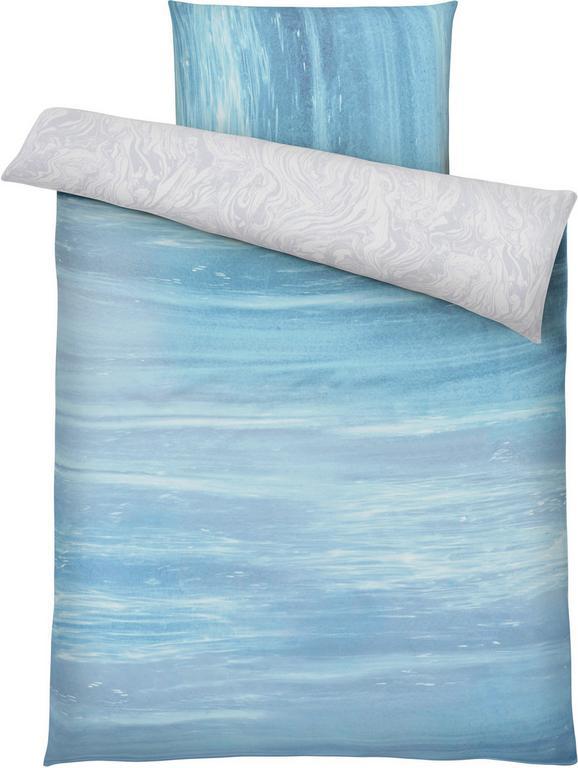 Bettwäsche Ocean in Aqua ca. 135x200cm - Blau, Textil (135/200cm) - Mömax modern living