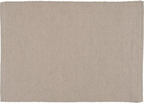 Tischset Maren in Stein - Grau, Textil (33/45cm) - BASED