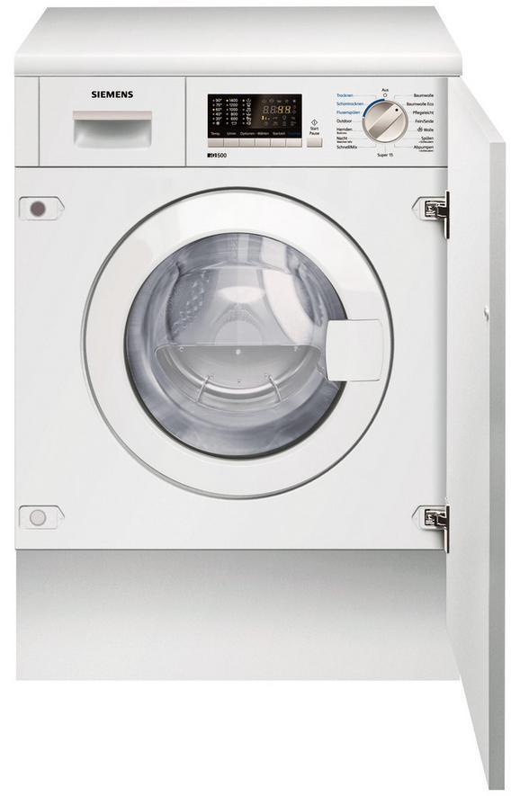 Waschtrockner Siemens Wk14d541, EEZ B - Weiß (59,5/82/58,4cm) - Siemens