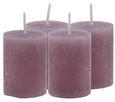 Sveča Lia - 4-delni Set - vijolična, Moderno (4/5,5cm) - Mömax modern living