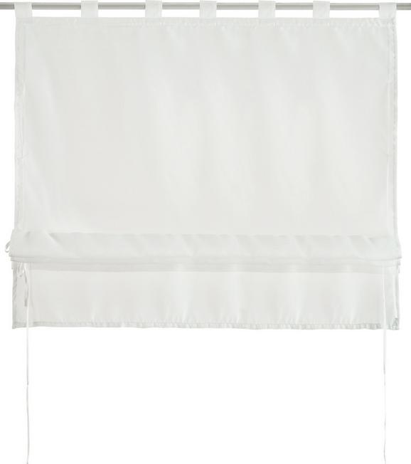 Bändchenrollo Nina Weiß ca. 100x140cm - Weiß, Textil (100/140cm) - Mömax modern living