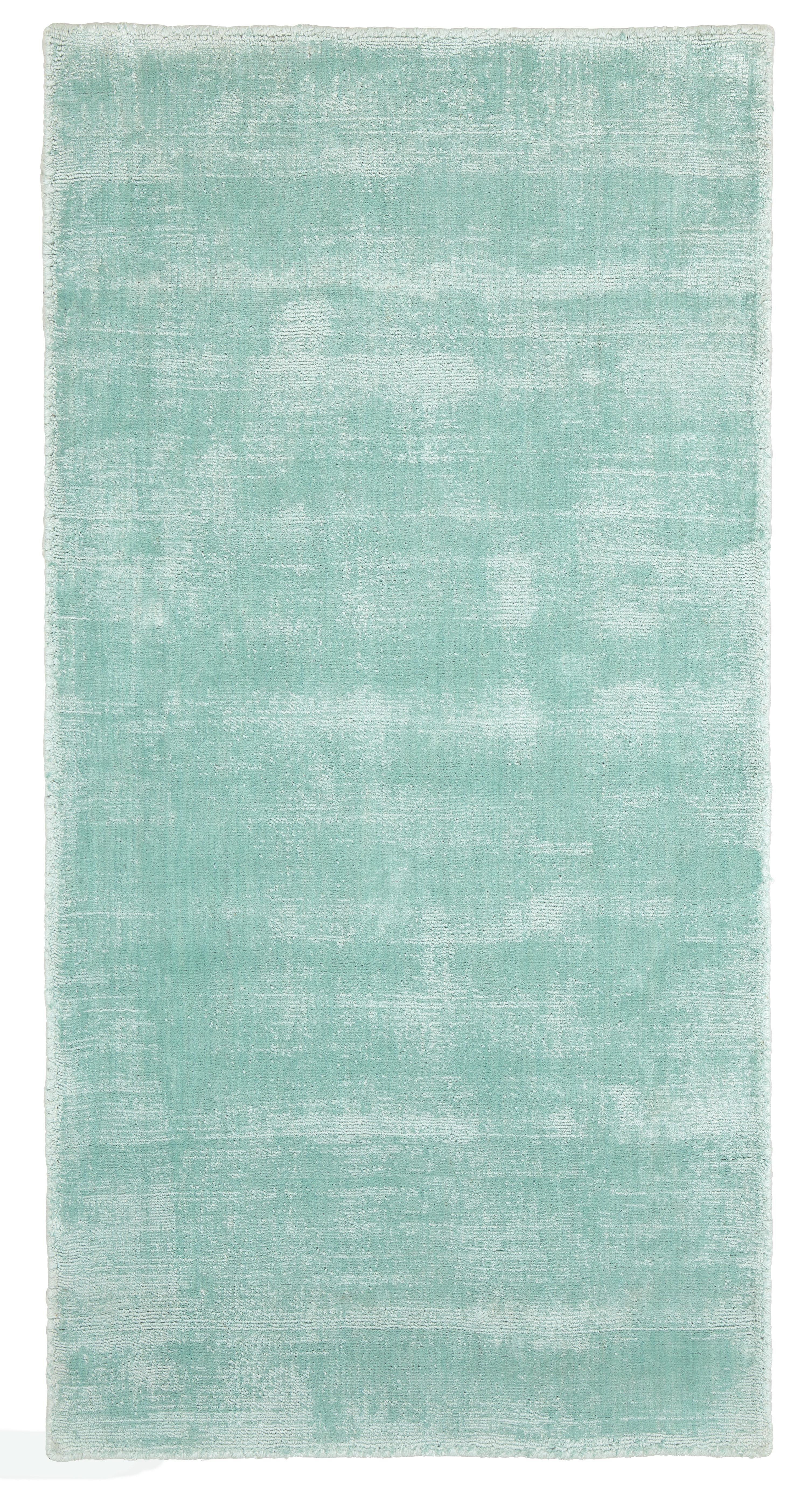 Webteppich Andrea in Mint ca. 120x170cm - Mintgrün, Textil (120/170cm) - MÖMAX modern living