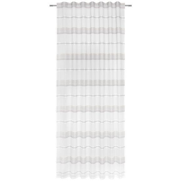 Fertigvorhang Louis Braun/Weiß 140x245cm - Braun/Weiß, KONVENTIONELL, Textil (140/245cm) - Mömax modern living