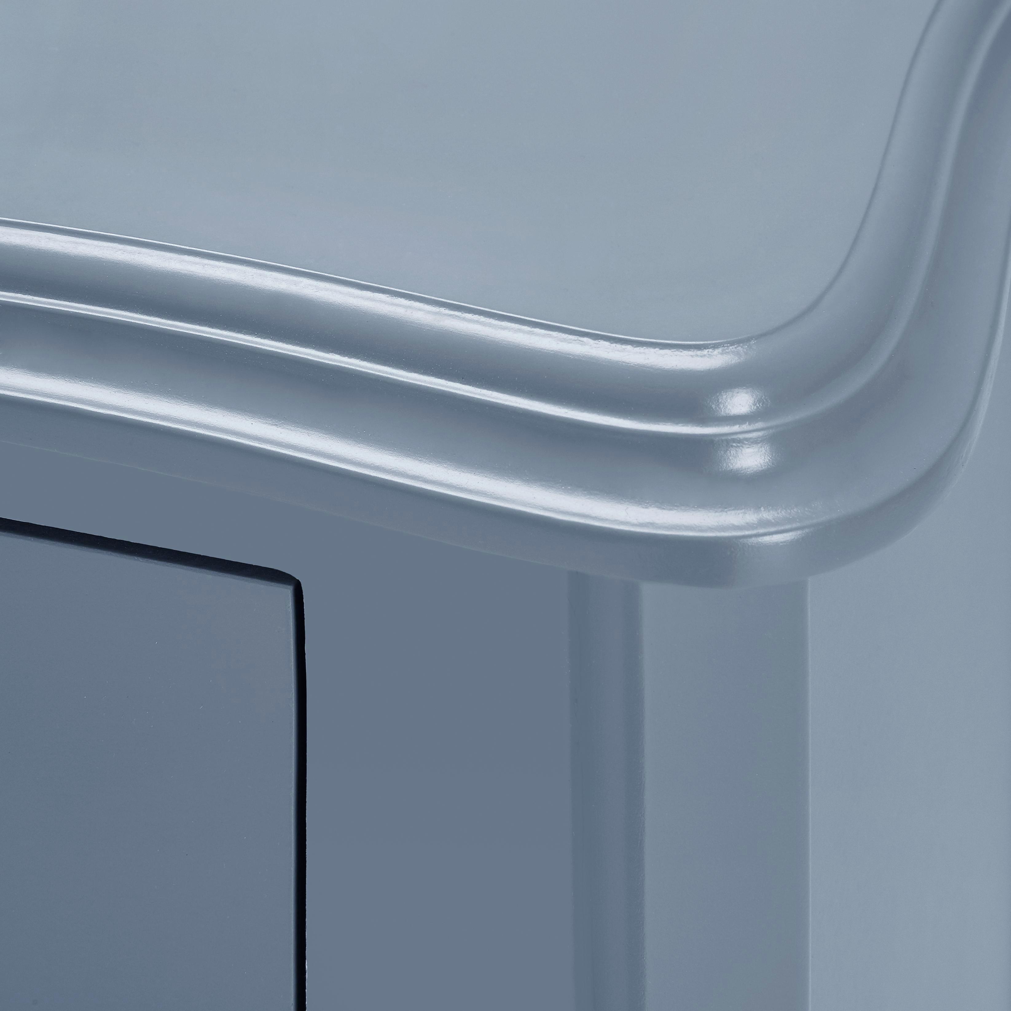 Nachtkästchen Guiseppe - Grau, MODERN, Holz (43/66/32cm) - MÖMAX modern living