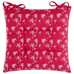 Sitzkissen Lady Palms in Pink ca. 40x40cm - Pink, LIFESTYLE, Textil (40/40cm) - Mömax modern living