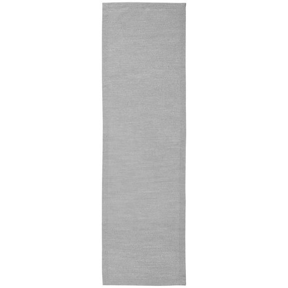 Tischläufer Charlotte in Grau, ca.45x150cm - Grau, MODERN, Textil (45/150cm) - Premium Living