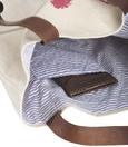 Handtasche Queen ca.50x40cm - Beige/Rot, LIFESTYLE, Textil (50/40cm) - Mömax modern living
