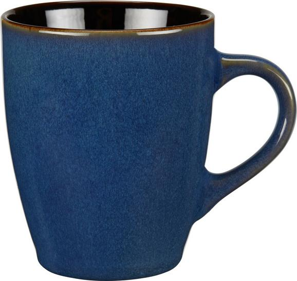Kaffeebecher Uri in Blau - Blau, LIFESTYLE, Keramik (8,9/10,6cm) - Mömax modern living