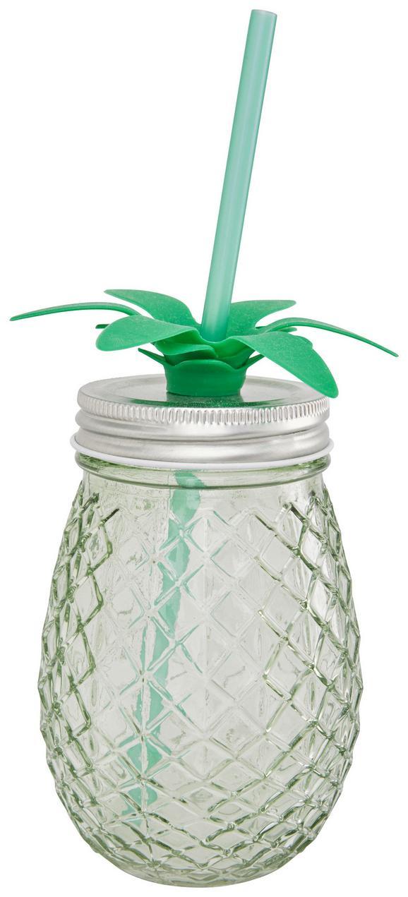 Kozarec Pineapple - roza/meta zelena, kovina/umetna masa (9/13,3cm) - Mömax modern living