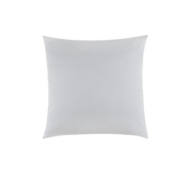 Díszpárna Zippmex - Világosszürke, Textil (50/50cm) - Based
