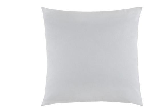 Zierkissen Zippmex, ca. 50x50cm - Hellgrau, Textil (50/50cm) - Based