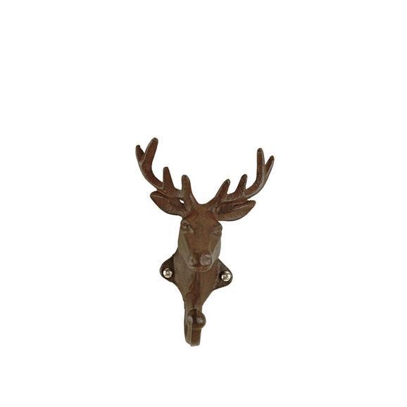 Kaveljček Ted-sb- - temno rjava, kovina (11/15/6cm) - Mömax modern living