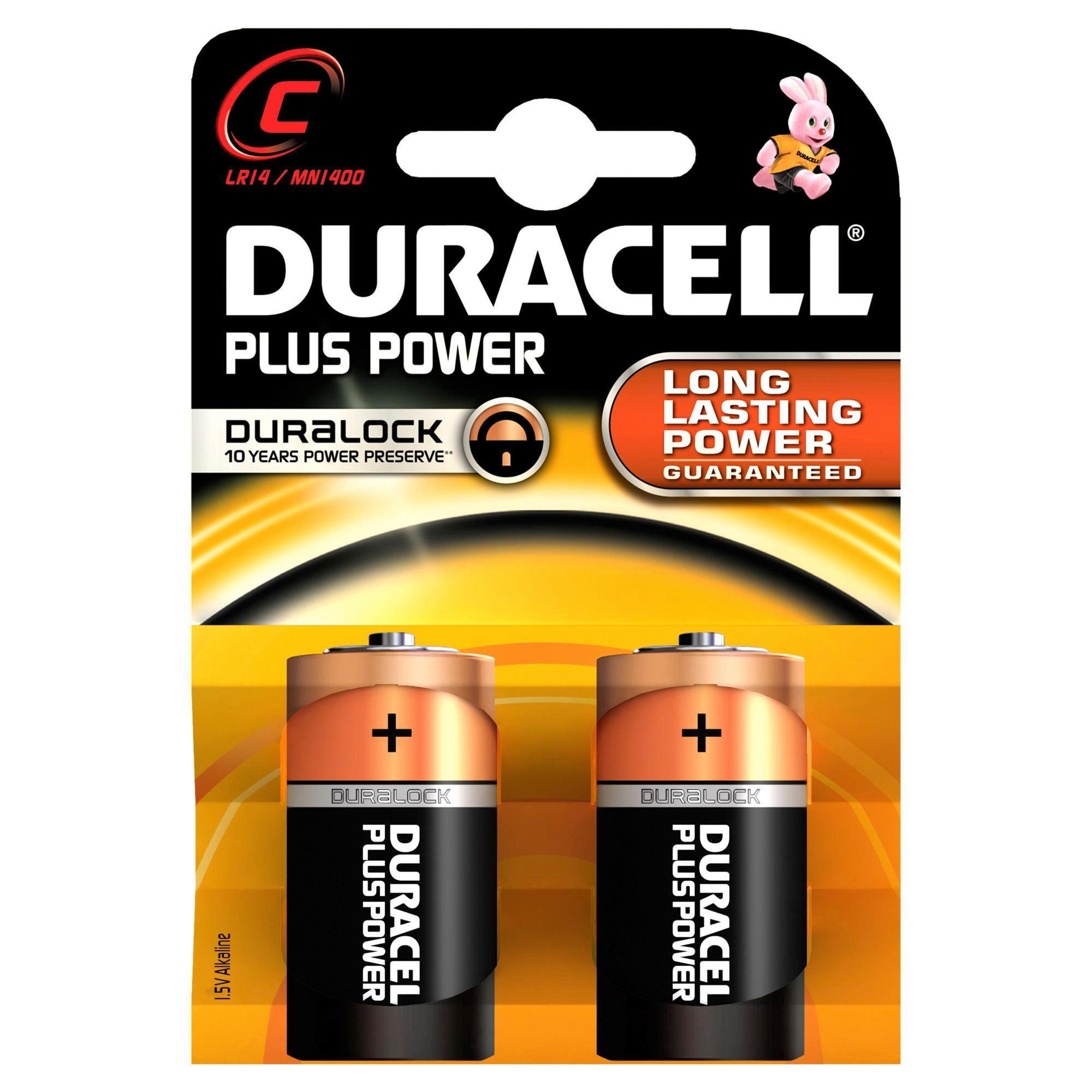 Batterie Duracell Lr14 - (8,4/11,9/2,6cm)