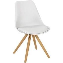 Kindersessel Weiß - Weiß, MODERN, Textil (39/57/40cm) - Zandiara
