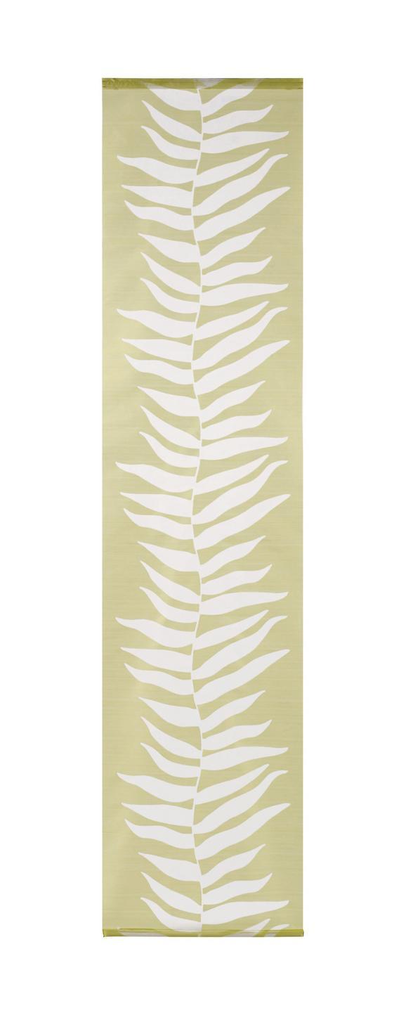 Flächenvorhang Joe, ca. 60x245cm - Grün, Textil (60/245cm) - MÖMAX modern living