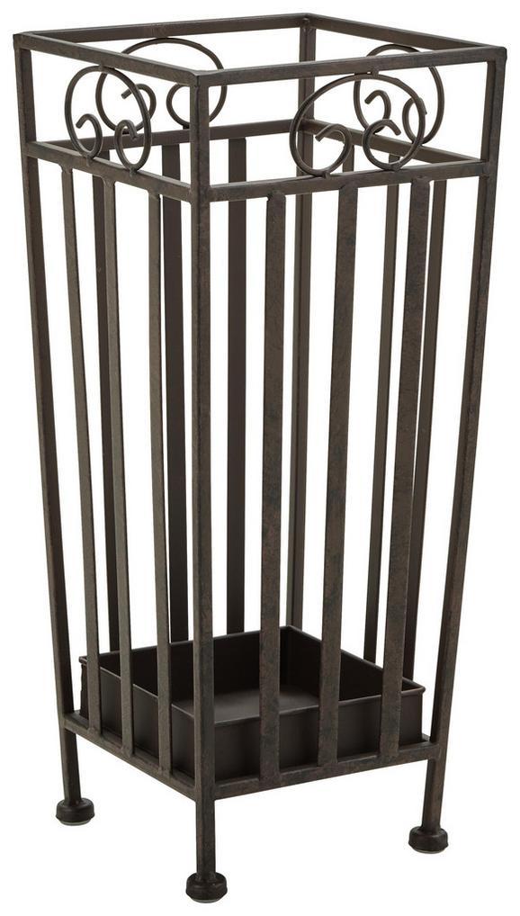 Schirmständer in Rostfarben - Rostfarben, Metall (20/46/20cm) - MÖMAX modern living