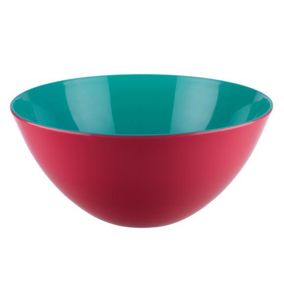 Salátástál Malia - Pink/Sárga, Lifestyle, Műanyag (27/12,5cm) - Modern Living