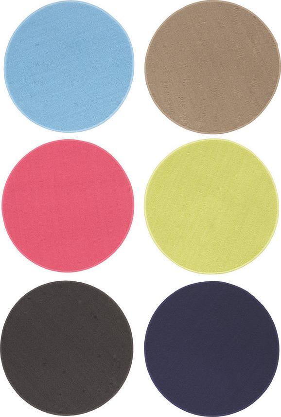 Teppich Ring, ca. 57cm - Pink/Dunkelgrau, LIFESTYLE, Textil (57cm) - MÖMAX modern living