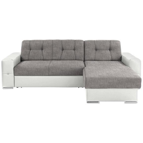 Sjedeća Garnitura Fulton - bijela/siva, Basics, plastika (260/160cm)