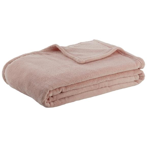 Pătură Pufoasă Kuschelix - roz, textil (140/200cm) - Modern Living
