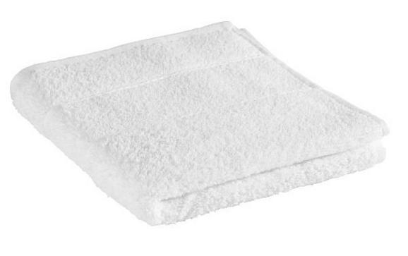 Handtuch Melanie in Weiß - Weiß, Textil (50/100cm) - MÖMAX modern living