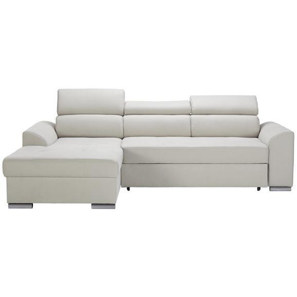 Sedežna Garnitura Abba - bež, Moderno, tekstil (246/167cm) - Modern Living