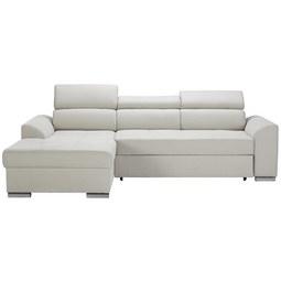 Sedežna Garnitura Abba - bež, Moderno, tekstil (246/167cm) - Mömax modern living