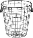 Košara Paula - črna, kovina (29,5/30,5cm) - Mömax modern living