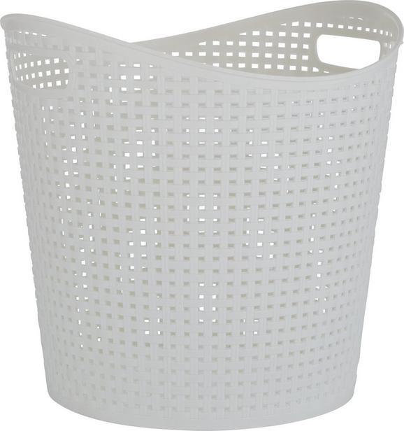 Korb Felix in Weiß - Weiß, Kunststoff (38,5/37cm) - Mömax modern living