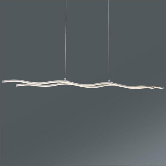 Viseča Svetilka Wave Line - krom, Konvencionalno, kovina/umetna masa (100/120/8cm)