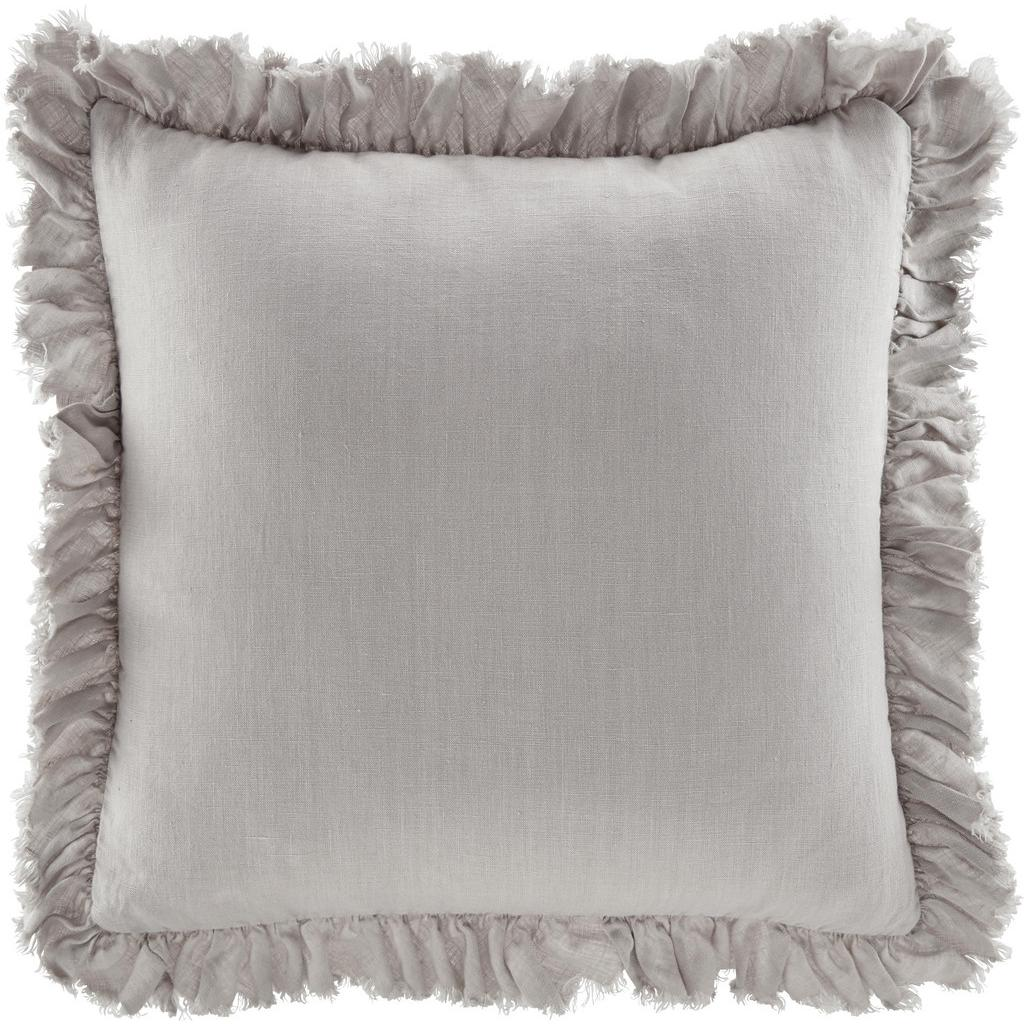 Kissen Pascaline ca.45x45cm in Taupe