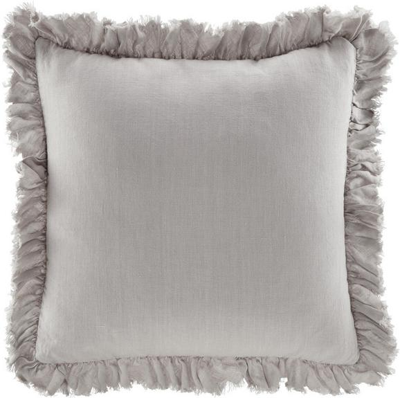 Kissen Pascaline ca.45x45cm in Taupe - Taupe, MODERN, Textil (45/45cm) - Mömax modern living