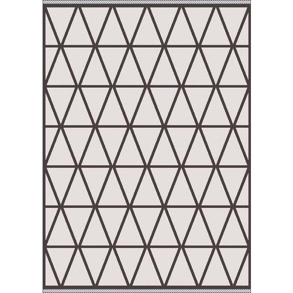Flachwebeteppich Phoenix ca. 160x230cm - Anthrazit/Grau, MODERN, Textil (160/230cm) - Modern Living