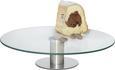 Krožnik Za Torto Luisa - srebrna/prozorna, kovina/steklo (30/7cm) - Mömax modern living