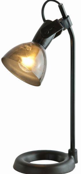 Tischleuchte Aston - Schwarz, MODERN, Kunststoff/Metall (13,5/19/33cm) - MÖMAX modern living