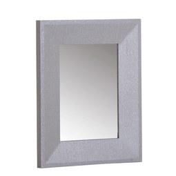 Tükör Glamour - ezüst színű, üveg/fa (80/180/5cm)