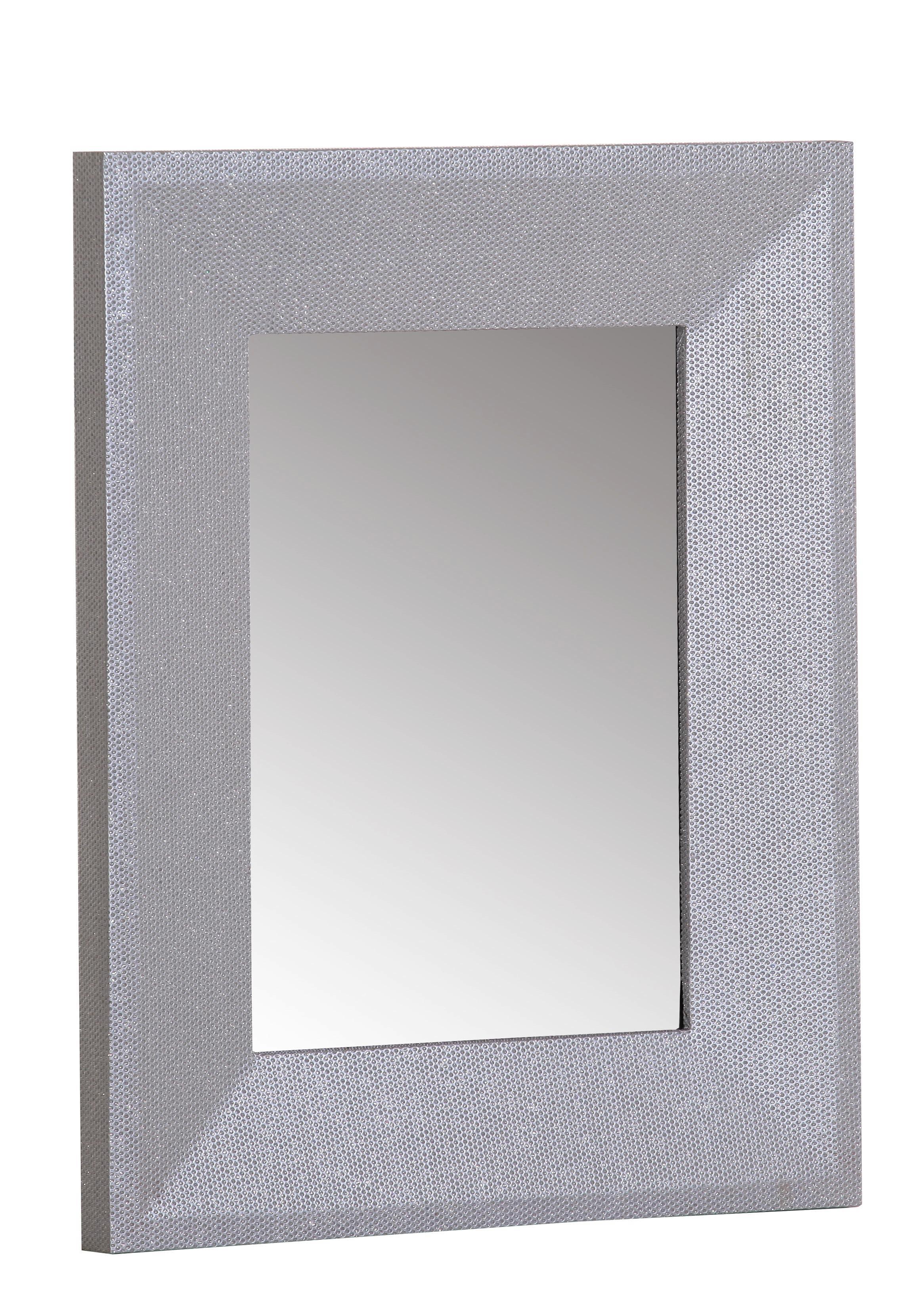 Wandspiegel ca. 80x180x5cm - Silberfarben, Glas/Holz (80/180/5cm) - MÖMAX modern living