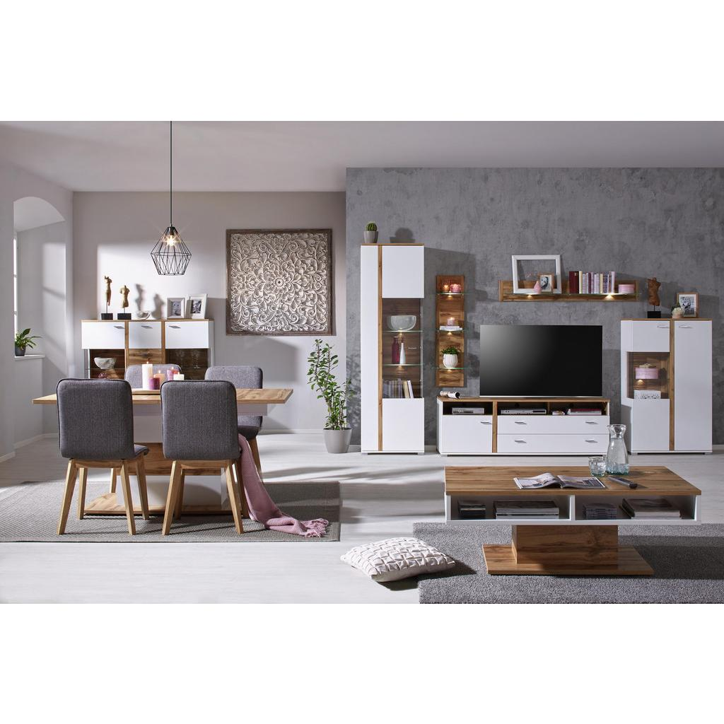 highboard wei eichefarben haustechnik thiel. Black Bedroom Furniture Sets. Home Design Ideas