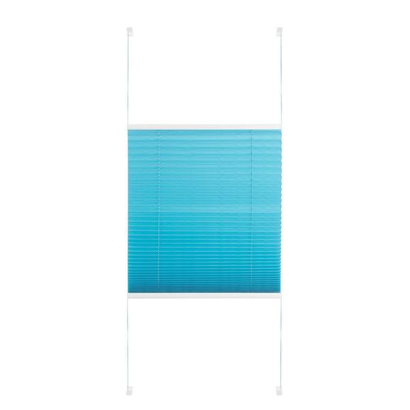Plissee Free in Petrol ca. 50x130cm - Petrol, Textil (50/130cm) - Premium Living
