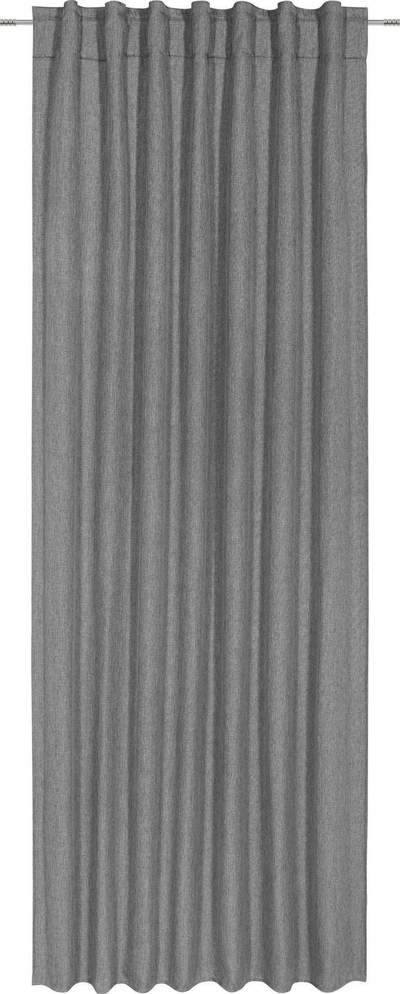 Fertigvorhang Jakob Anthrazit ca. 140x245cm - Anthrazit, Textil (140/245cm) - Mömax modern living