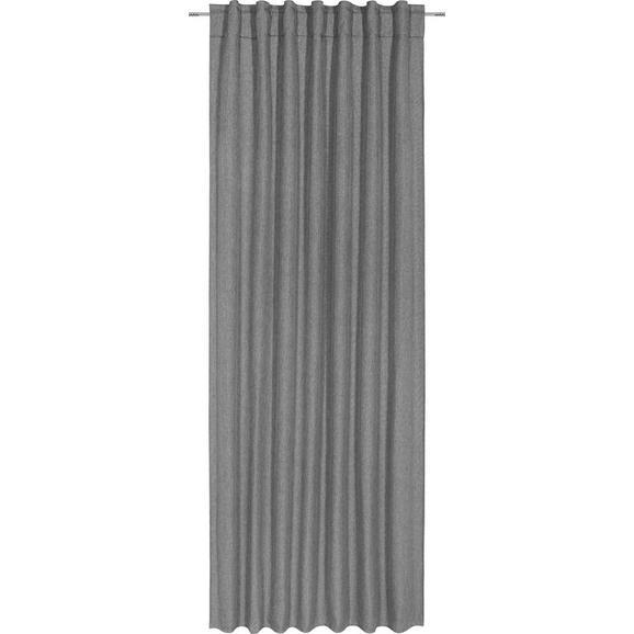 Končana Zavesa Jakob - antracit, tekstil (140/245cm) - Mömax modern living