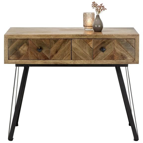 konsole in braun schwarz online kaufen m max. Black Bedroom Furniture Sets. Home Design Ideas