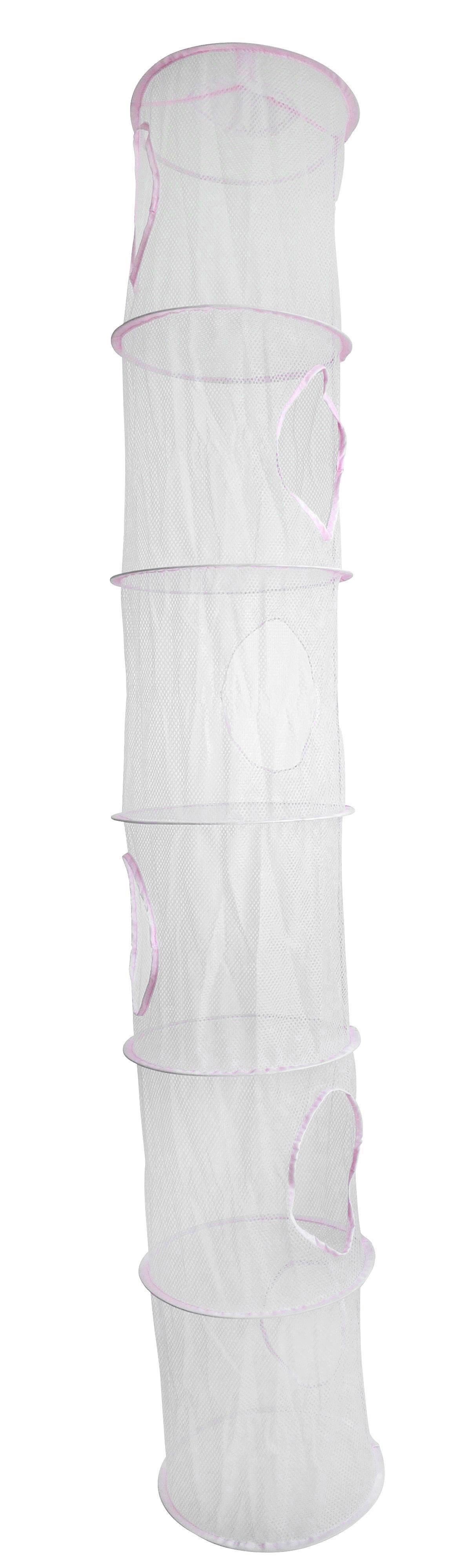 Aufbewahrungsbox in Weiß/Rosa - Rosa, Kunststoff (30/180/30cm) - MÖMAX modern living