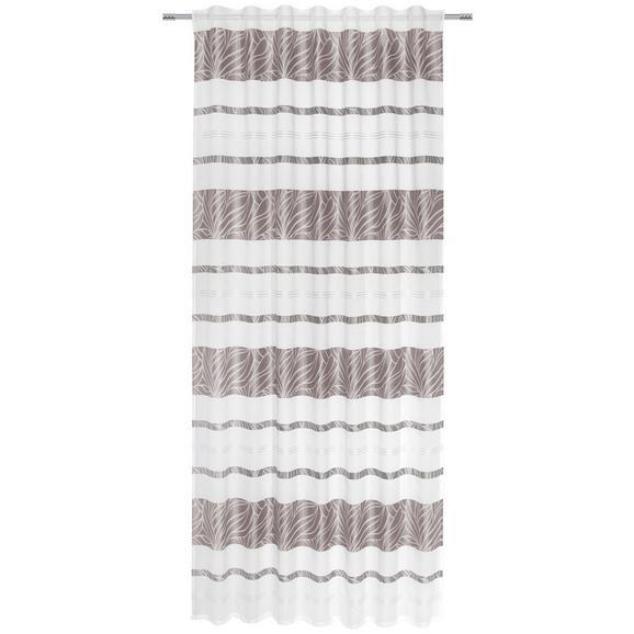 Perdea Prefabricată Anita - gri, Konventionell, textil (140/245cm) - Modern Living