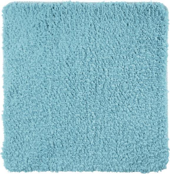 Fürdőszobaszőnyeg Christina - Világoskék, Textil (50/50cm) - Mömax modern living