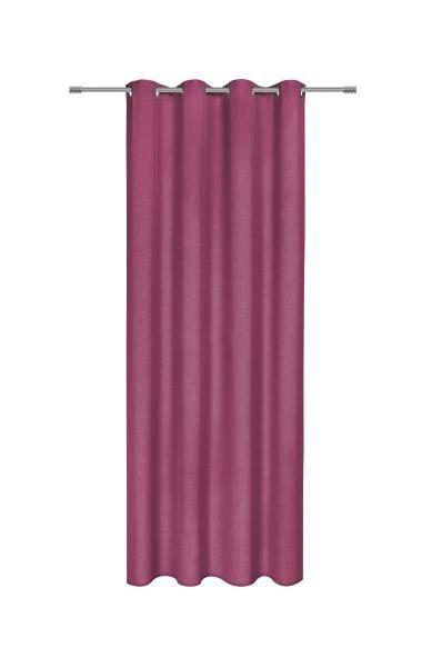Készfüggöny Basic Ii Ulli - lila, textil (140/245cm) - MÖMAX modern living