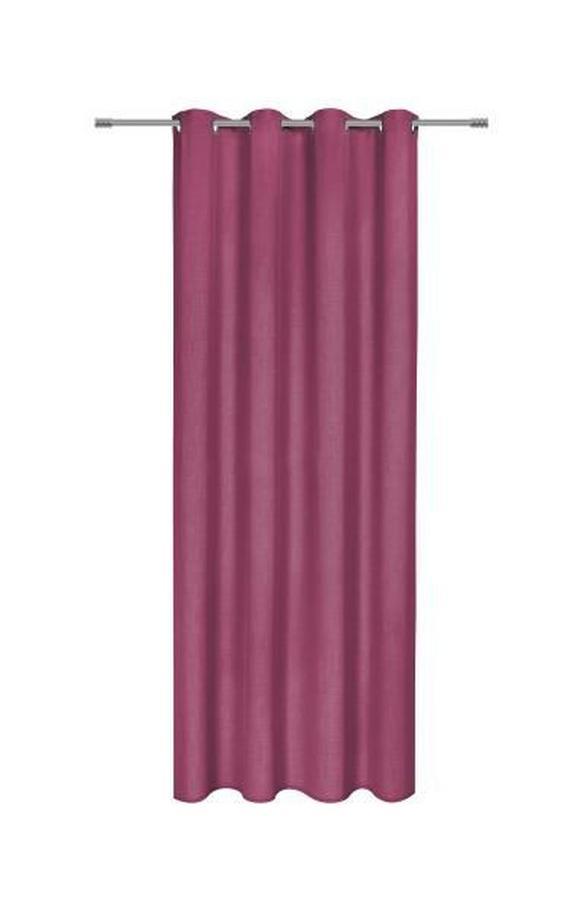 Zavesa Z Obročki Ulli -eö- - lila, tekstil (140/245cm) - MÖMAX modern living