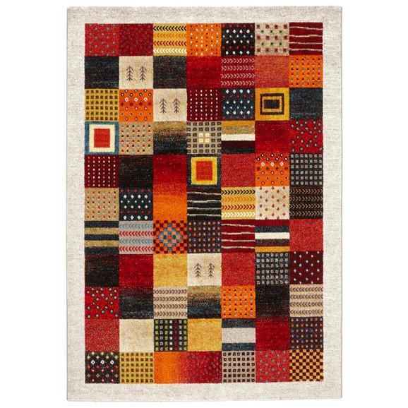 Covor Țesut Lima 2 - galben/roșu, Lifestyle, textil (120/170cm) - Modern Living
