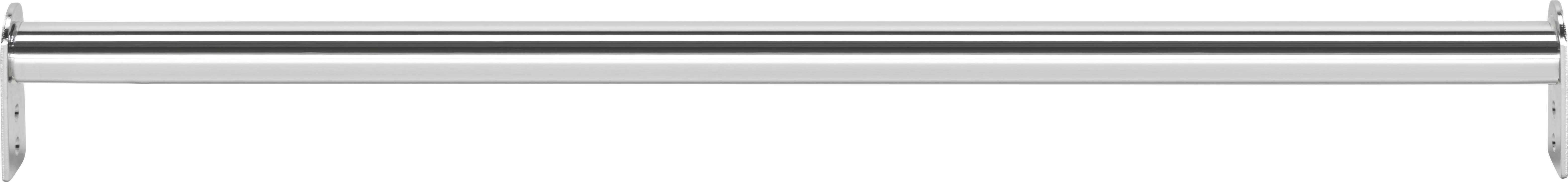 Kleiderstange Chromfarben aus Stahl - Chromfarben, Metall (60-110/7/3cm) - MÖMAX modern living